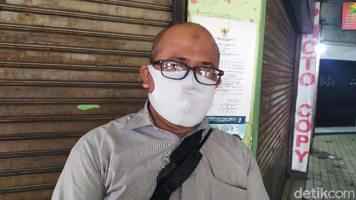 Kepala Pasar Slipi Jakbar, Ahmad Subhan