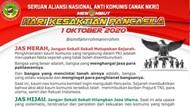 Terbitkan Seruan, FPI dkk Minta TNI Upayakan Pemutaran Film G30S/PKI