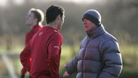Misteri Bentakan Sir Alex Ferguson ke Cristiano Ronaldo