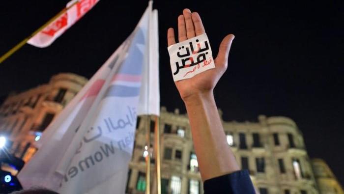 Gerakan #MeToo di Mesir terancam usai saksi kasus pemerkosaan ditangkap (AFP Photo)
