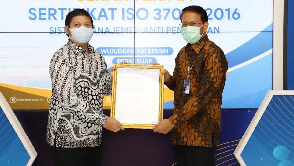 KAI Raih Sertifikat ISO 37001:2016