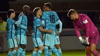 Piala Liga Inggris: Liverpool Libas Tim Divisi Tiga 7-2