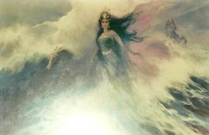 Lukisan Ratu Kidul (Sumber: Situs Kemdikbud)