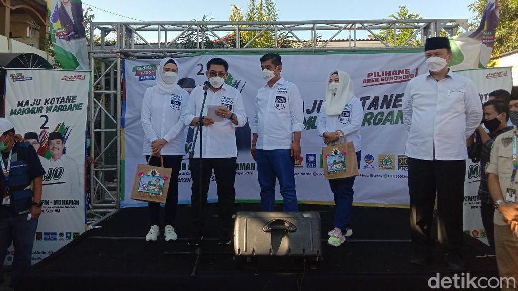 Siap Kampanye Taat Protokol Kesehatan, Machfud-Mujiaman Siapkan Ambulans