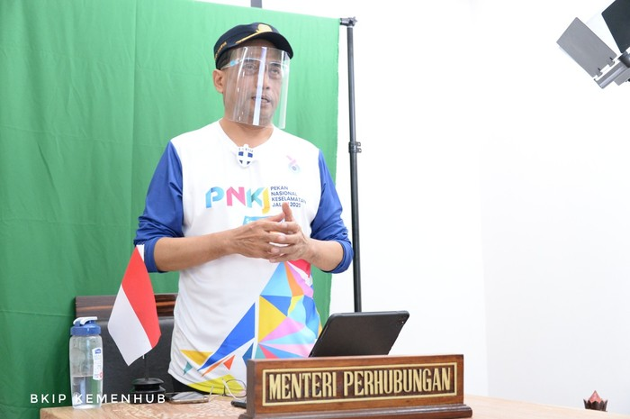 Kementerian Perhubungan menyelenggarakan Pekan Nasional Keselamatan Jalan Tahun 2020 dengan tema Sayangi Nyawa, Suarakan Keselamatan secara virtual.