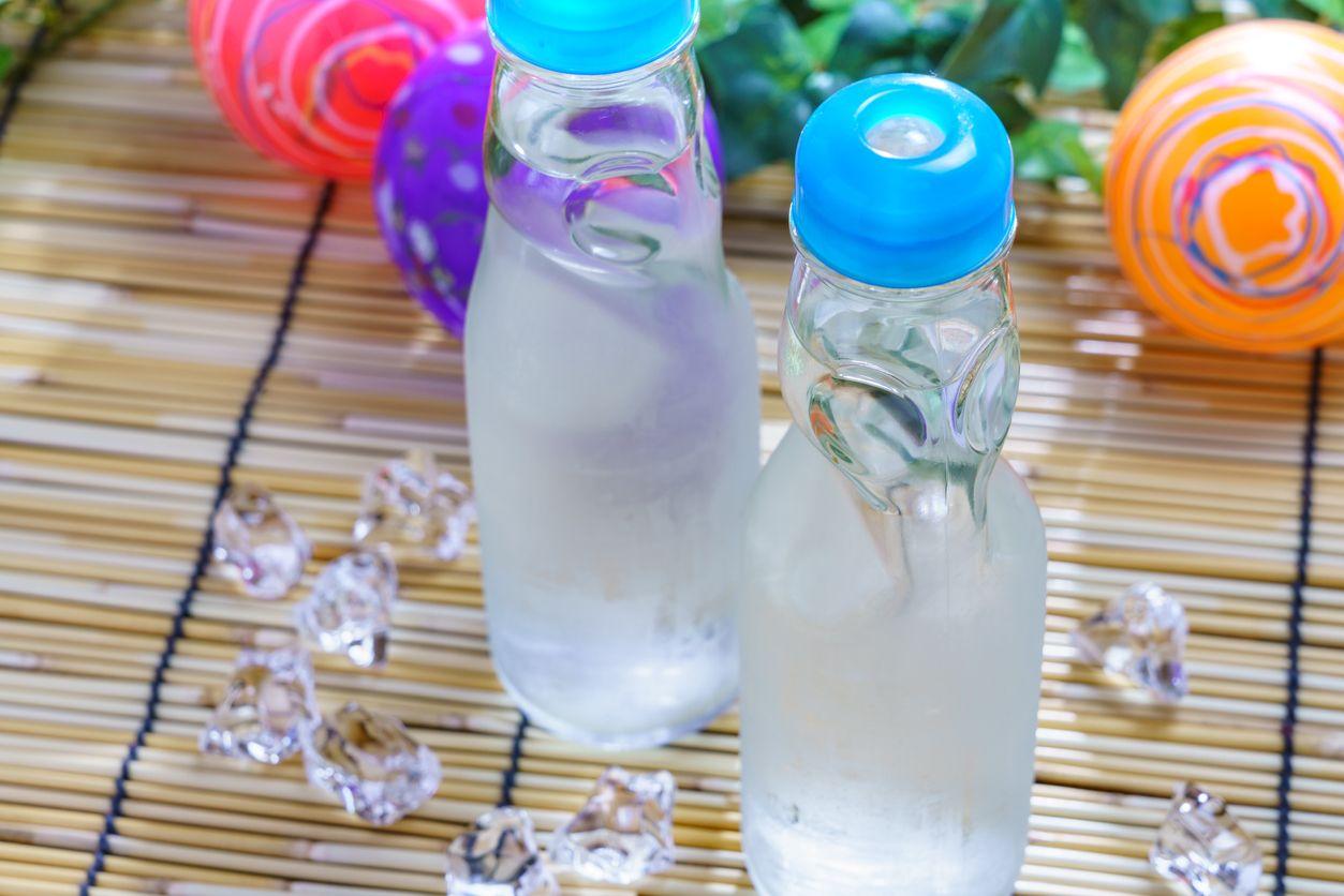 Minuman Soda Jepang Ramune