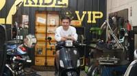 Cerita Gading Marten Modifikasi Vespa Puluhan Juta Rupiah Cuma untuk ke Minimarket