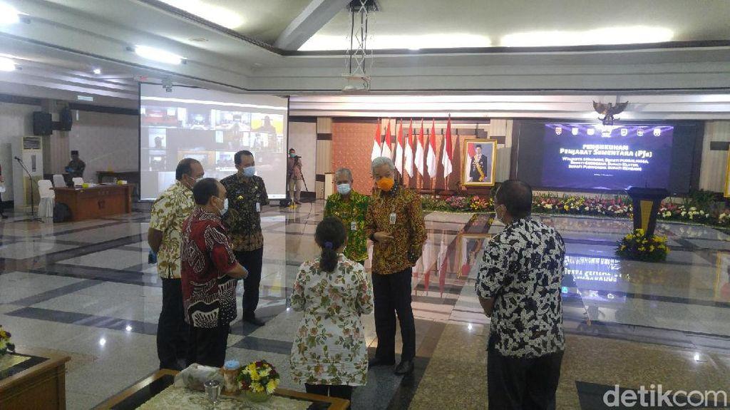Petahana Maju Pilkada, 6 Pejabat Sementara Kepala Daerah Jateng Dilantik