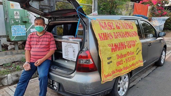 Korban PHK Jualan Nasi Kuning di Bogor Omzet Rp 17 Juta