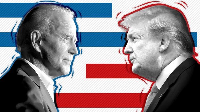 Pilpres AS: Siapa yang unggul dalam jajak pendapat, Donald Trump atau Joe Biden?