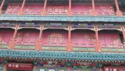 Potret Arsitektur Dinasti Qing di Qianmen Street Beijing