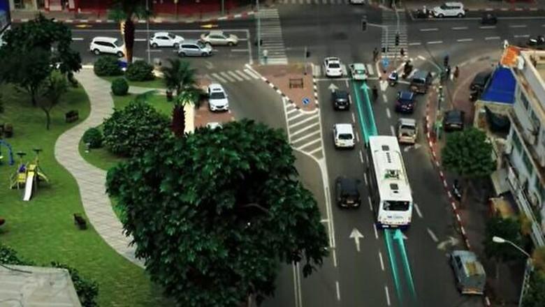 Proyek recharging roads yang dikembangkan perusahaan Israel, ElectReon