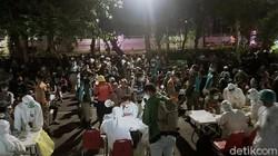 Pusat Tongkrongan di Surabaya jadi Sasaran Rapid Tes