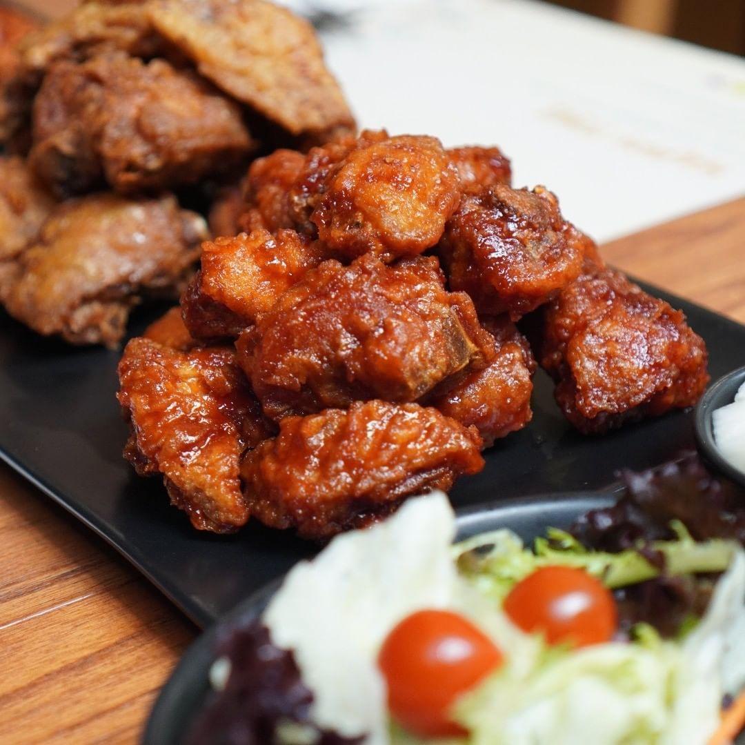 Kriuk Renyah Korean Fried Chicken Bisa Dipesan di 5 Tempat Ini