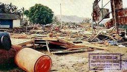 Melihat Lagi Kengerian Tsunami Saat Terjang Banyuwangi Tahun 1994