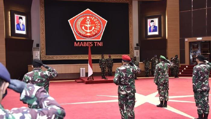 Upacara Kenaikan Pangkat yang Dipimpin Panglima TNI