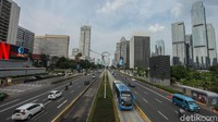 Volume Kendaraan Meningkat 11,66% Usai DKI Tak Terapkan PSBB Ketat