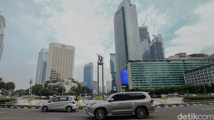 Kepala Dinas Perhubungan(Dishub) DKI Jakarta Syafrin Liputo mengklaim terjadi penurunan volume kendaraan selama PSBB diperketat.