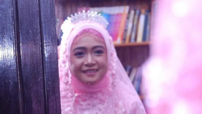 Almarhumah Istri Ihsan, Amirah yang meninggal akibat terpapar virus Corona (COVID-19).