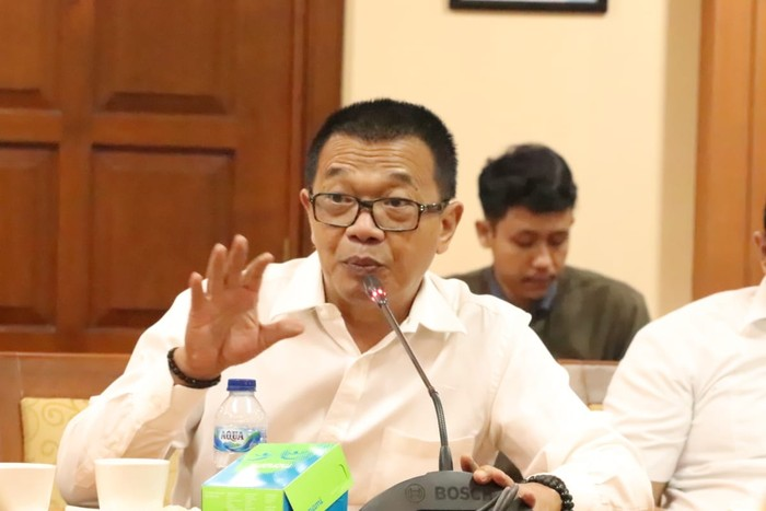 Dirjen Binapenta dan PKK Kemnaker Suhartono