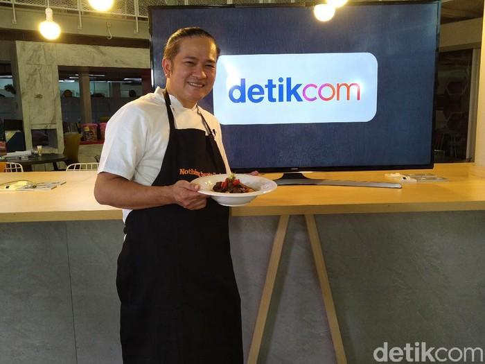 Event dXpertise Chef Chandra Bocorkan Rahasia Resep Semur Daging Andalannya