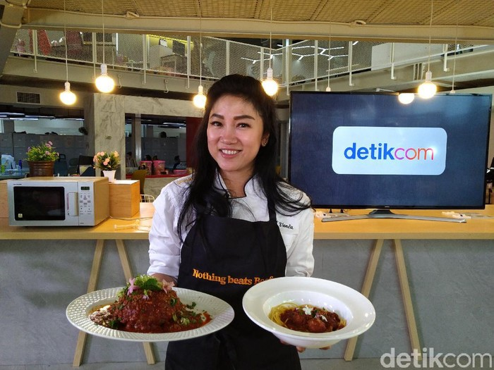 Spaghetti Meatballs Daging Sapi Australia ala Chef Vania Wibisono