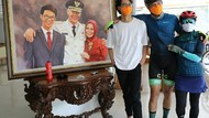 Ganjar dan Atikoh Ulang Tahun Pernikahan, Anak Beri Hadiah Lukisan