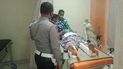 Kecelakaan Beruntun di Sijunjung Sumbar, Satu Truk Terjun ke Sawah