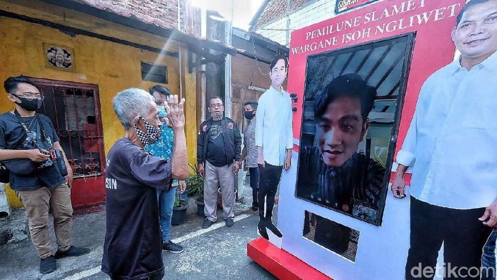Video: Hari Pertama Kampanye, Gibran Blusukan Virtual