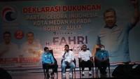 Fahri Hamzah datang ke Medan, Beri Wejangan untuk Bobby-Aulia