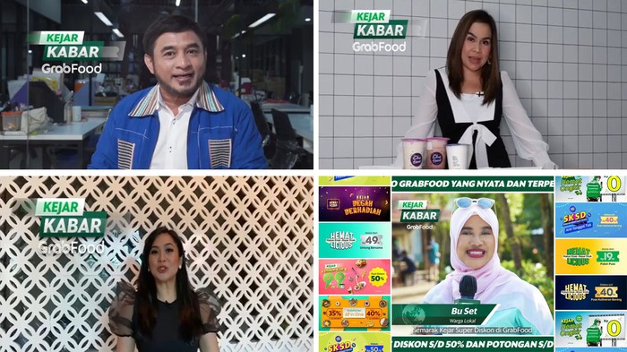 Presenter Semarak Kejar Super Diskon