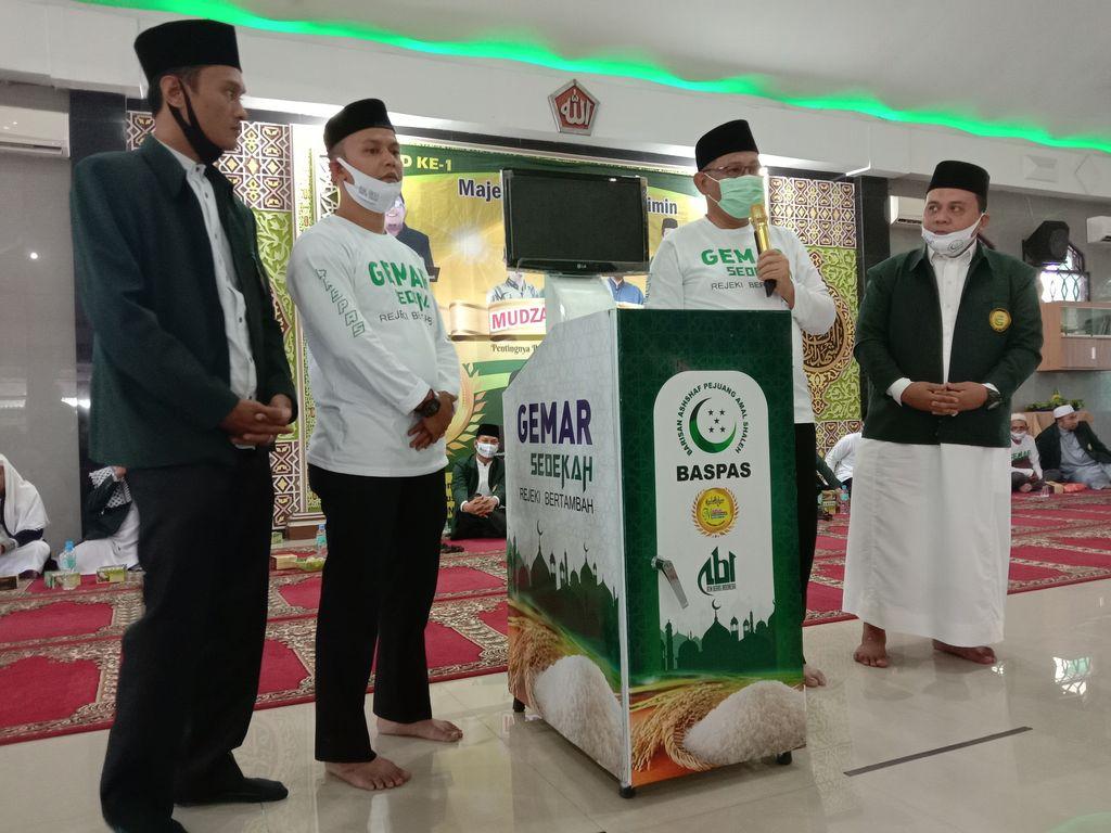 Akhyar Nasution launching ATM Beras (Foto: Ahmad Arfah/detikcom)