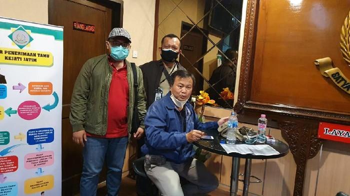 Buronan kasus pemalsuan merk antena tv, Lauw Ing Lioe alias Lioenardi