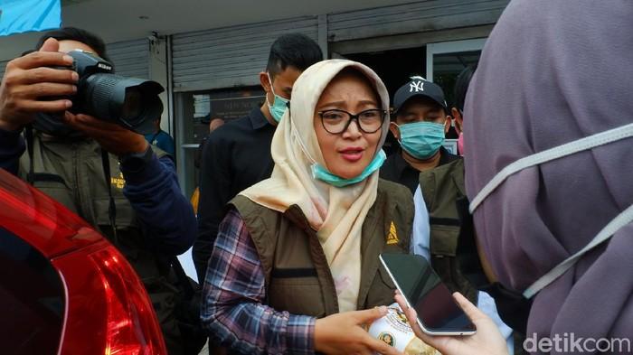Cabup Bandung Kurnia Agustin.