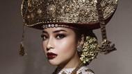 Nikita Willy Kenakan Pakaian Adat Lampung, Ini Arti Siger Pepadun