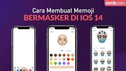 Panduan Membuat Memoji Bermasker untuk iOS 14