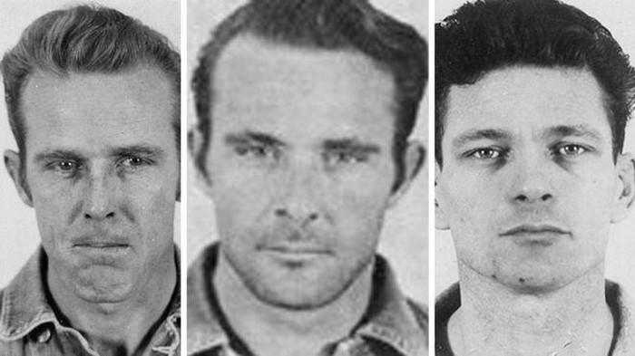 John Anglin, Clarence Anglin and Frank Morris (BBC News)