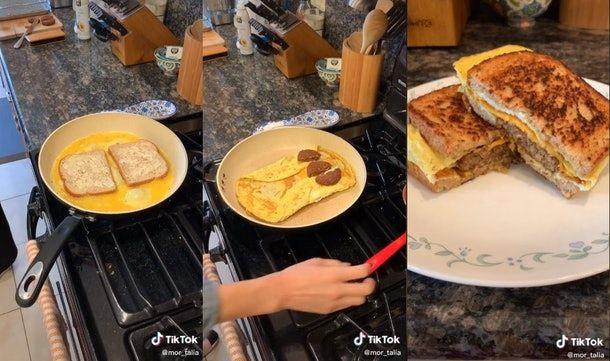 5 Sandwich Telur Ala TikTok