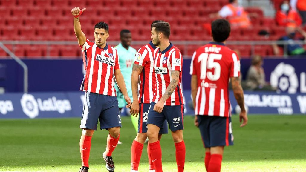 Atletico Vs Granada: Brace Suarez Bawa Los Colchoneros Menang 6-1