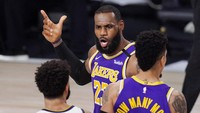 Hasil NBA: LeBron James Dominan, LA Lakers Melaju ke Final