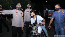 193 Biker Terjaring Operasi Yustisi Tengah Malam di Madiun