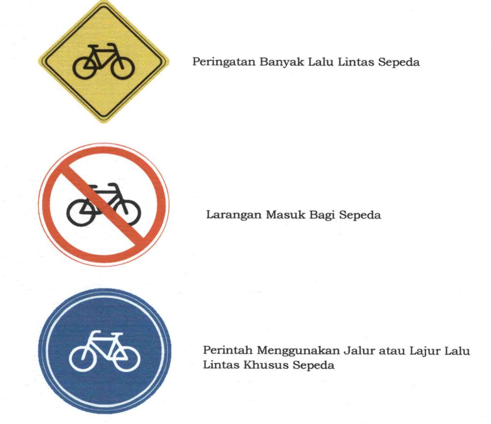 Rambu sepeda