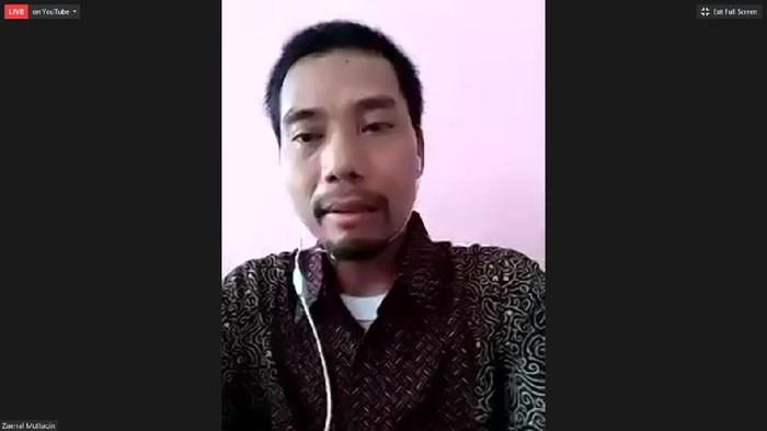 Sekjen IKOHI Zaenal Muttaqin (Tangkapan layar Webinar Kontras)