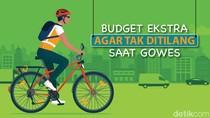 Sepeda Wajib Pakai Spakbor dan Reflektor, Butuh Budget Berapa?