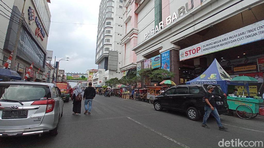 Sepekan Buka Tutup Jalan di Bandung, Pasar Baru Ramai di Weekend