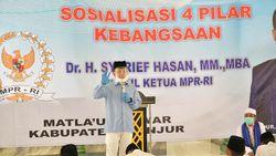 Waket MPR Sebut Sosialisasi 4 Pilar Tumbuhkan Rasa Cinta Tanah Air