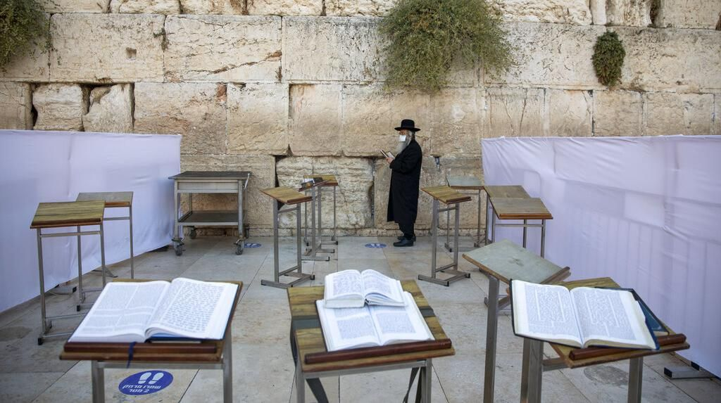 Warga Yahudi Israel Memperingati Yom Kippur di Tengah Lockdown