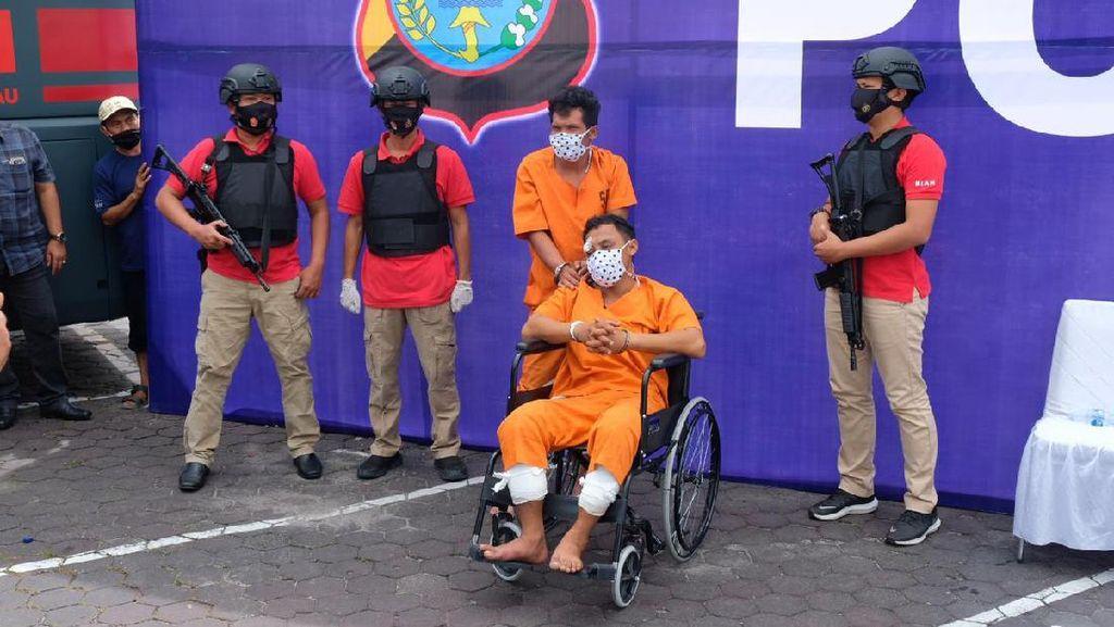 2 Terduga Pembunuh Pengusaha Rental dalam Sumur di Riau Ditangkap
