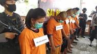 6 Bandar-Pengedar Narkoba Ditangkap di Cianjur, Salah Satunya Siswi SMK