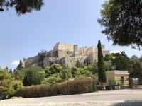Halaman depan menuju gerbang situs Aktopolis dan Parthenon. (Foto: Ristiyanti Handayani/dtraveler)